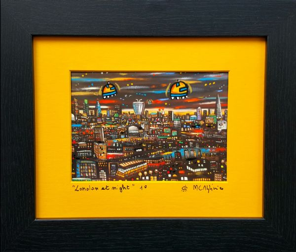 London at night, Sold on auction